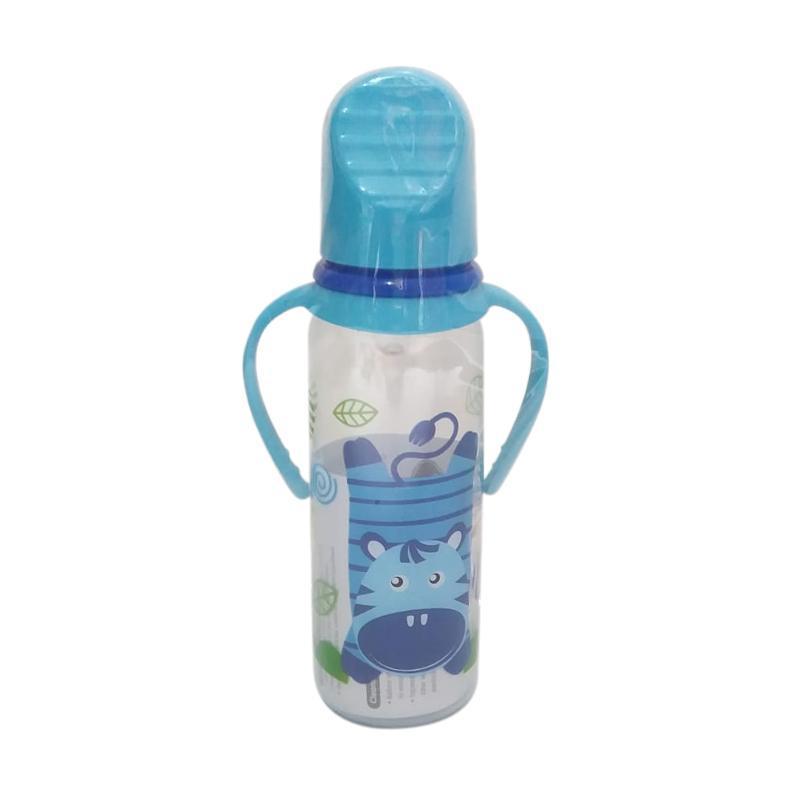 Baby Safe Feeding Bottle with Handle JS005 Botol Susu Bayi 250ml BPA Free