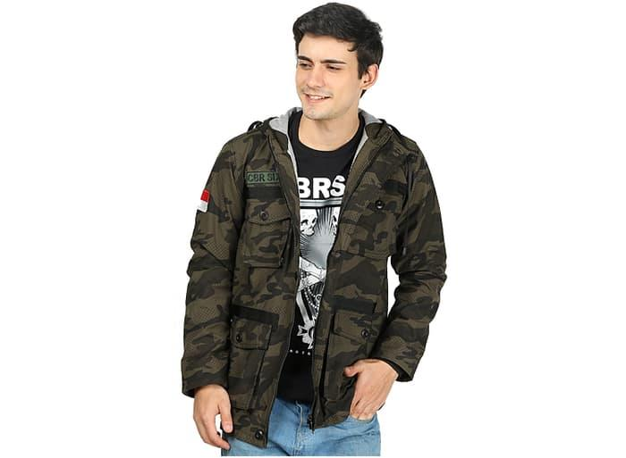DISKON jaket parka pria jaket gunung jaket army kanvas c6 original murah TERMURAH