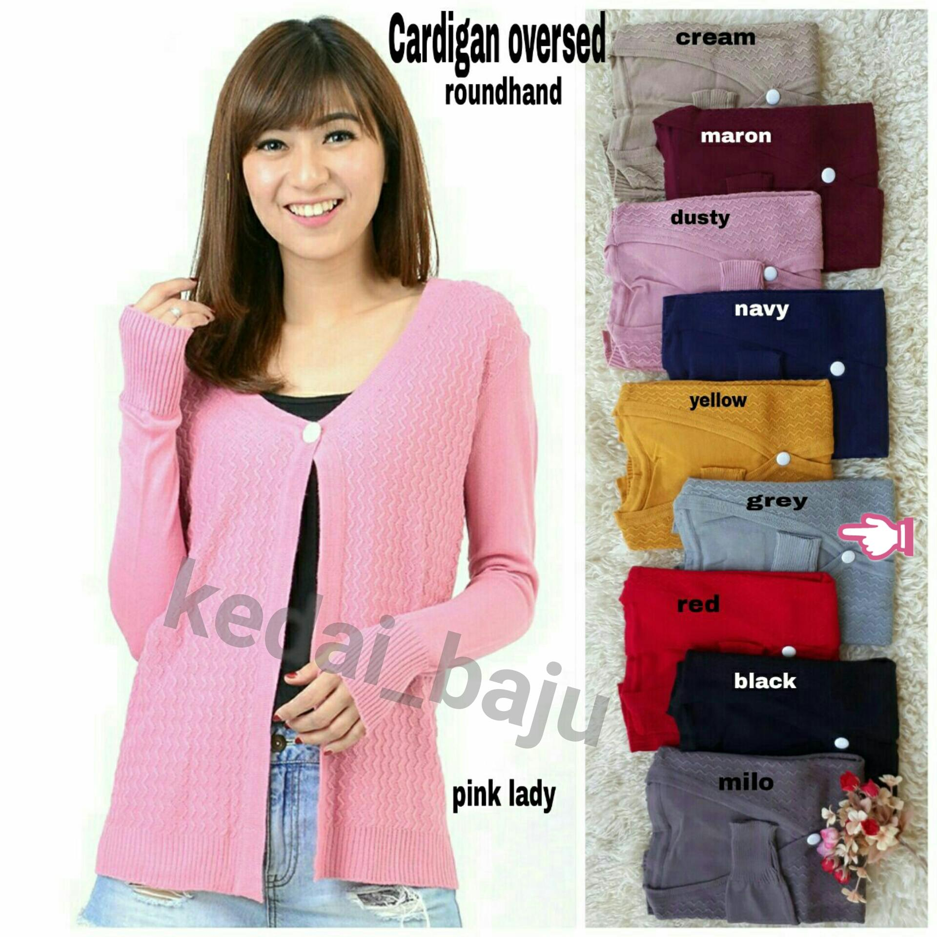 Kedai_baju Atasan Wanita - Outer Wanita - Luaran Wanita - Vest - Cardigan - Basic Cardy