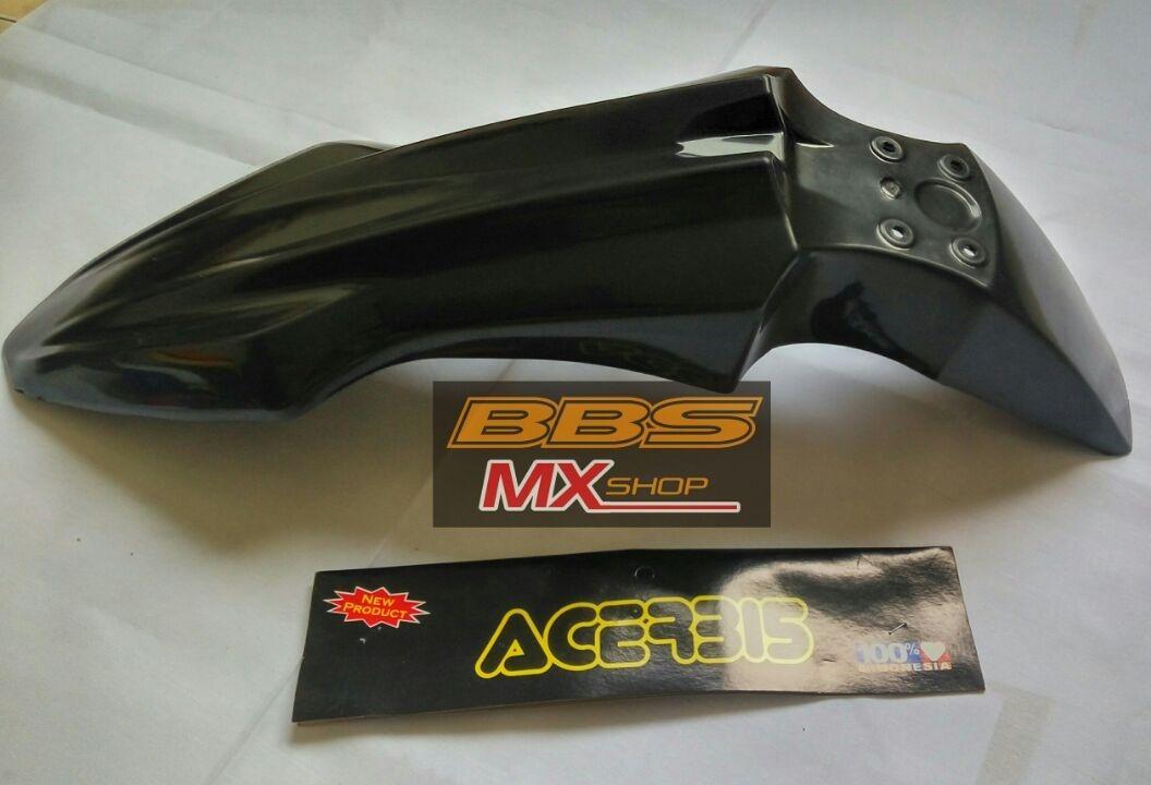 Spakbor slebor depan klx 150 bf hitam