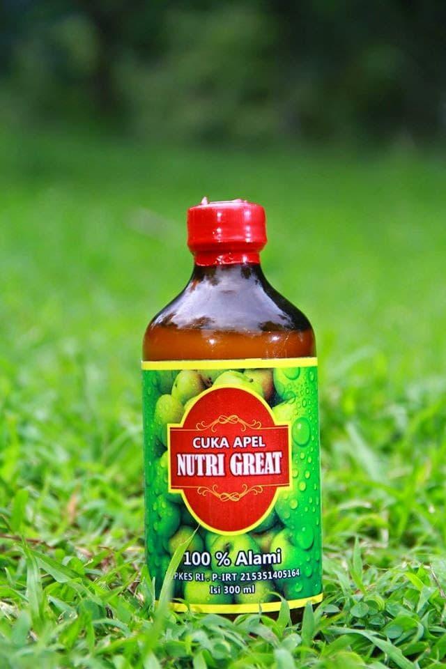 Promo - cuka apel nutri great