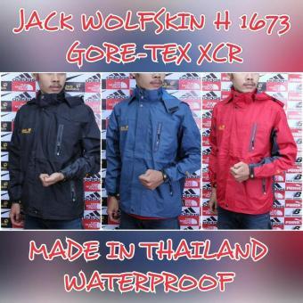 Beli sekarang Jaket Gunung Outdoor Jack Wolfskin 1673 Goretex Waterproof terbaik murah - Hanya Rp241.051
