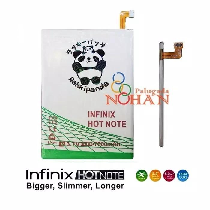 Rakkipanda Mcom Baterai Infinix Hot Note X551 BL-40AX Double Power Battery
