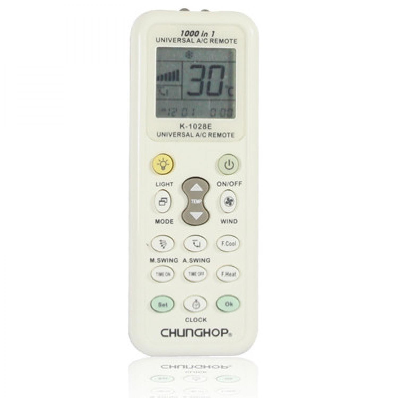 TERLARIS Remote AC Murah CHUNGHOP Universal AC Remote Controller with Flashlight - K-1028E