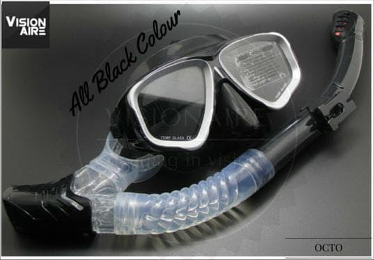 Jual Paket Diving Mask Minus + Dry Snorkle Hot