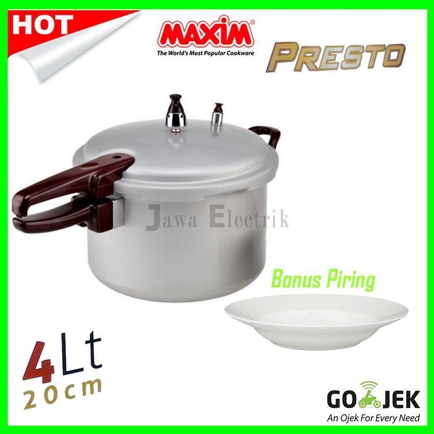 Panci Maxim Presto 4Liter 20CM (Presto Pressure Cooker Maxim)