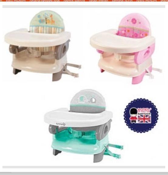 summer booster seat / high chair / kursi makan bayi tempat duduk baby