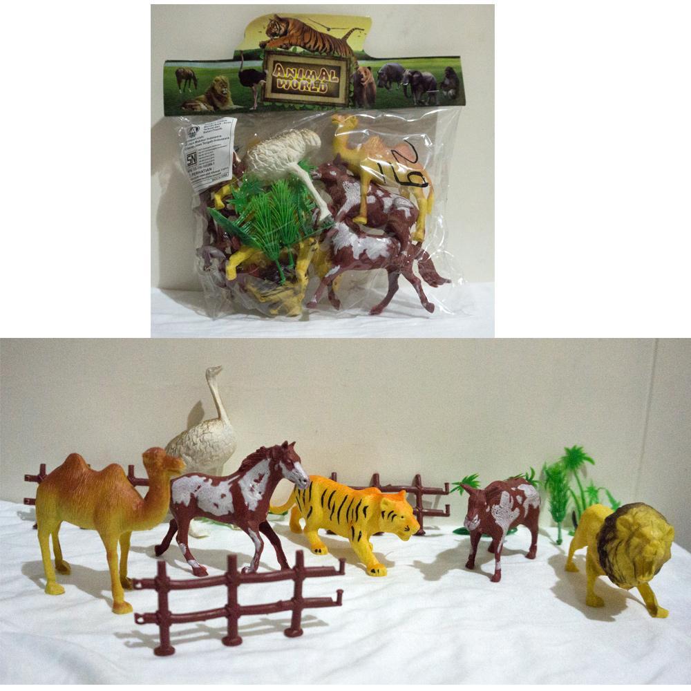 Ahs Mainan Anak Figure Binatang Karet Isi 12 Daftar Harga Terkini Music Jumping Animal Rusa Musik Ampamp Lampu 5402 Rp 13000