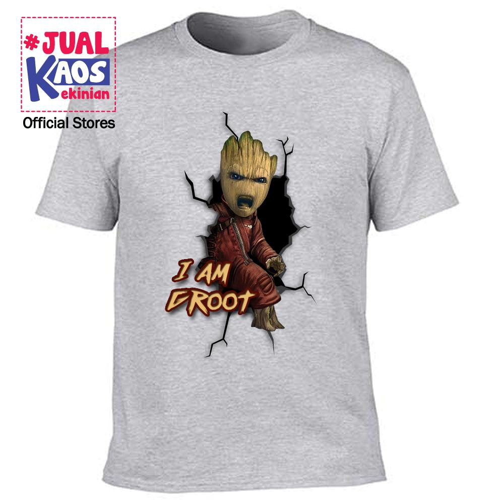 Kaos JP 1 Jual Kaos Jualkaos murah / Terlaris / Premium / tshirt / katun / distro / family / anak / surabaya / Super hero / Groot