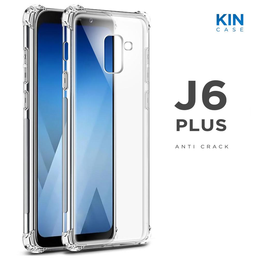 "Kin Case Anti Crack Samsung Galaxy J6 Plus 2018 6.0"" / J6+ Ultra Thin Anti"