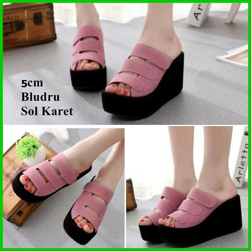 WG02 Sendal wedges pesta prepet