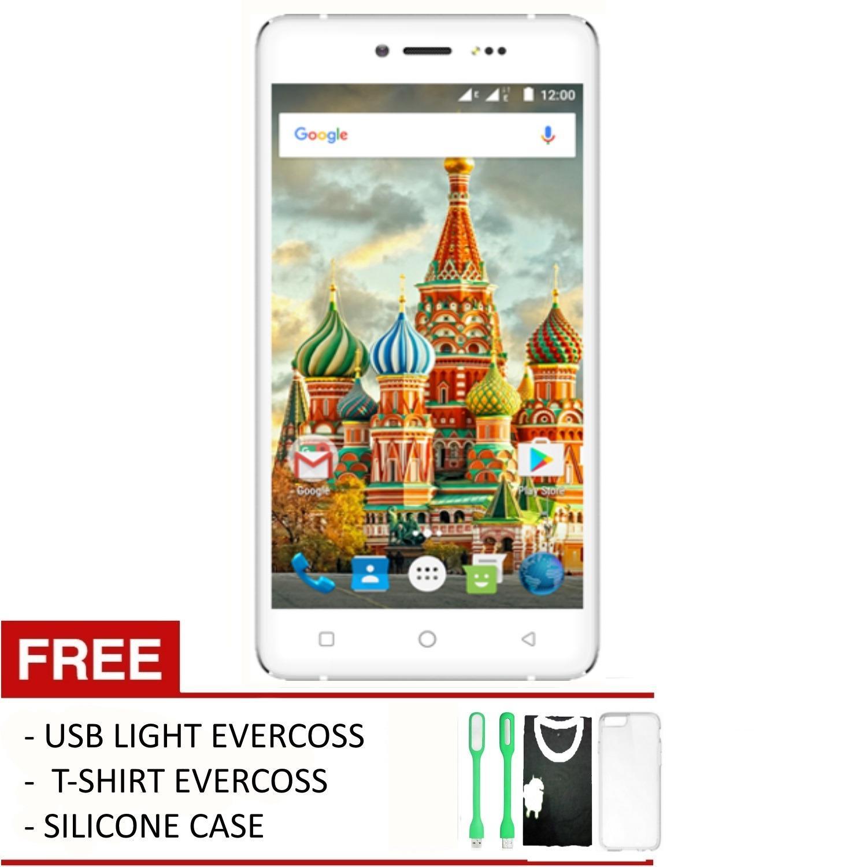 Evercoss Winner Y Silver A75 MAX - 3G - 5