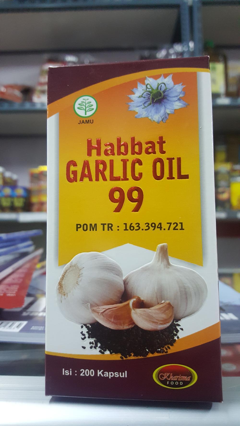 Rp 174.000. HABBAT GARLIC OIL 99 Original@200 Kapsul di lapak ...