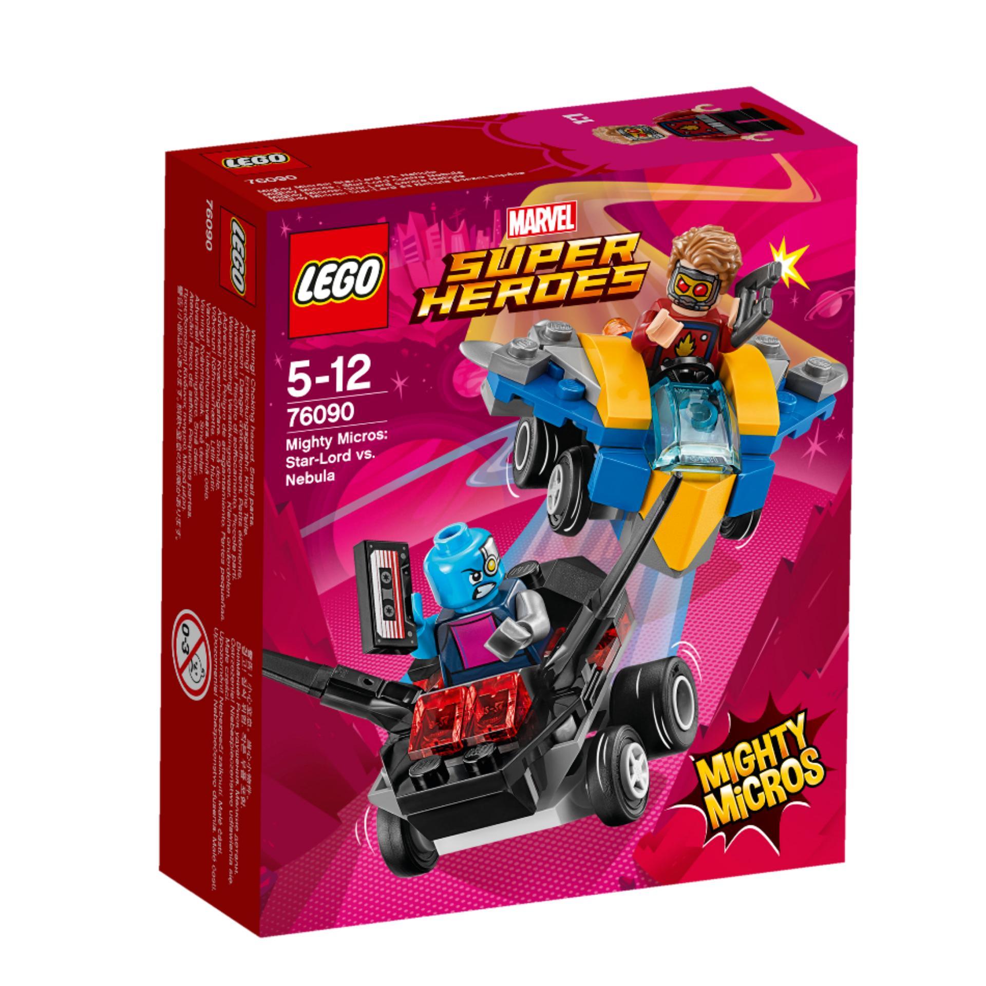 LEGO Marvel Super Heroes Mighty Micros Star Lord vs Nebula