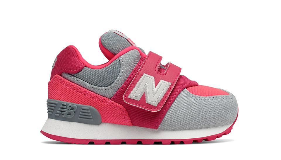 New Balance 574 Sepatu Olahraga Anak Perempuan - Merah b003dc22f4