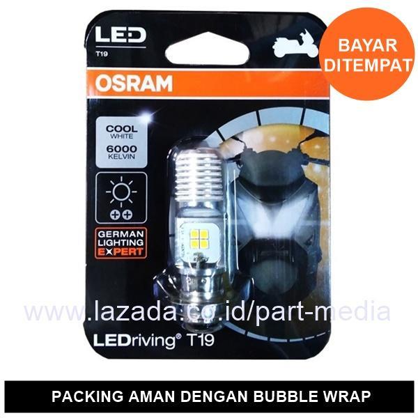 Osram Lampu Motor LED Honda Grand - T19 H6 M5 K1 Putih - 7735CW