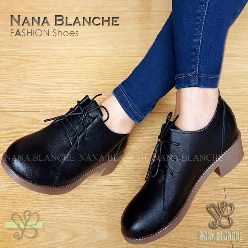 Nana Blanche Vanina Sepatu Fashion Wanita - 888 Black