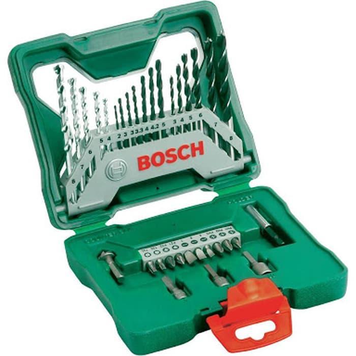 Bosch X Line 33pcs Mata Bor kau besi beton Mata obeng Mata Socket set