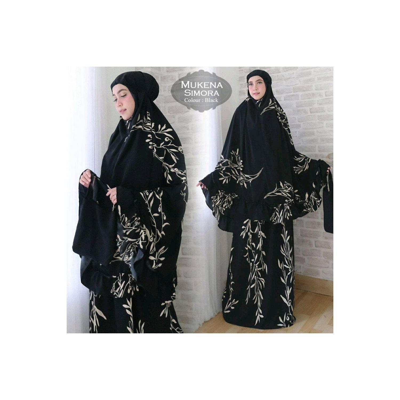Mukena Muslim Cantik Dt2712 plain maroko 1