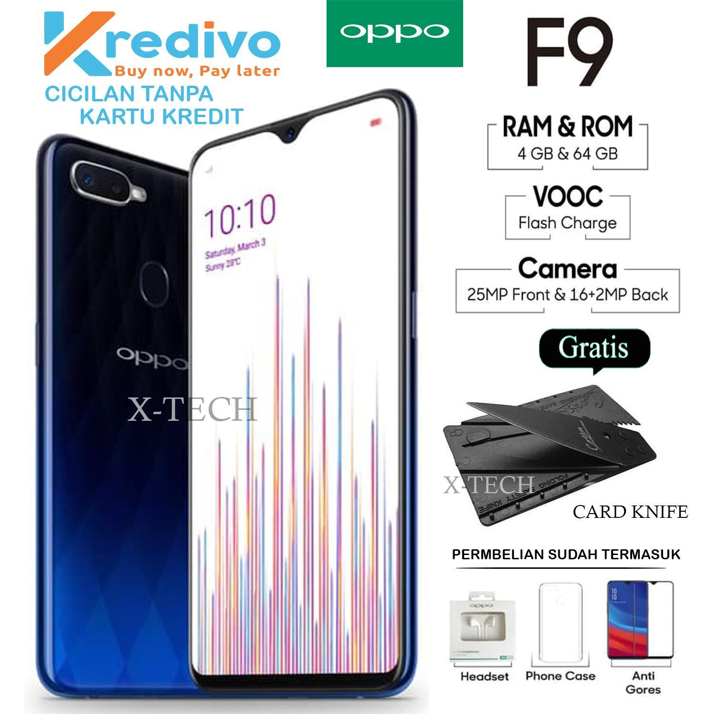 OPPO F9 4GB 64GB GARANSI RESMI