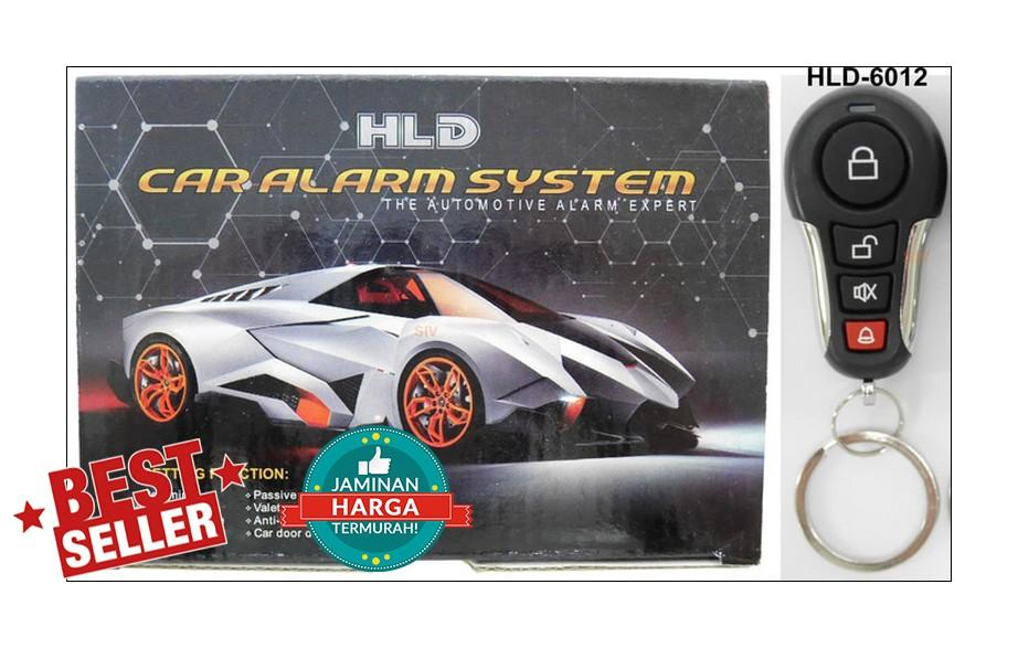 HLD HD-6012 Alarm Mobil Universal - Car Security Systems