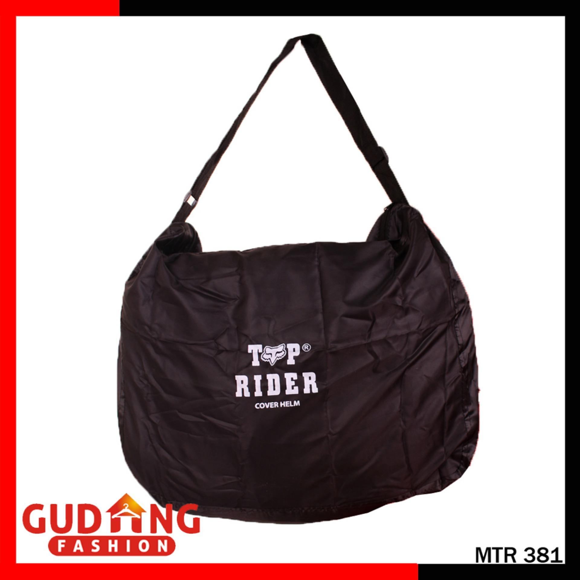Gudang Fashion - Tas Helm Anti Air Hujan - Hitam