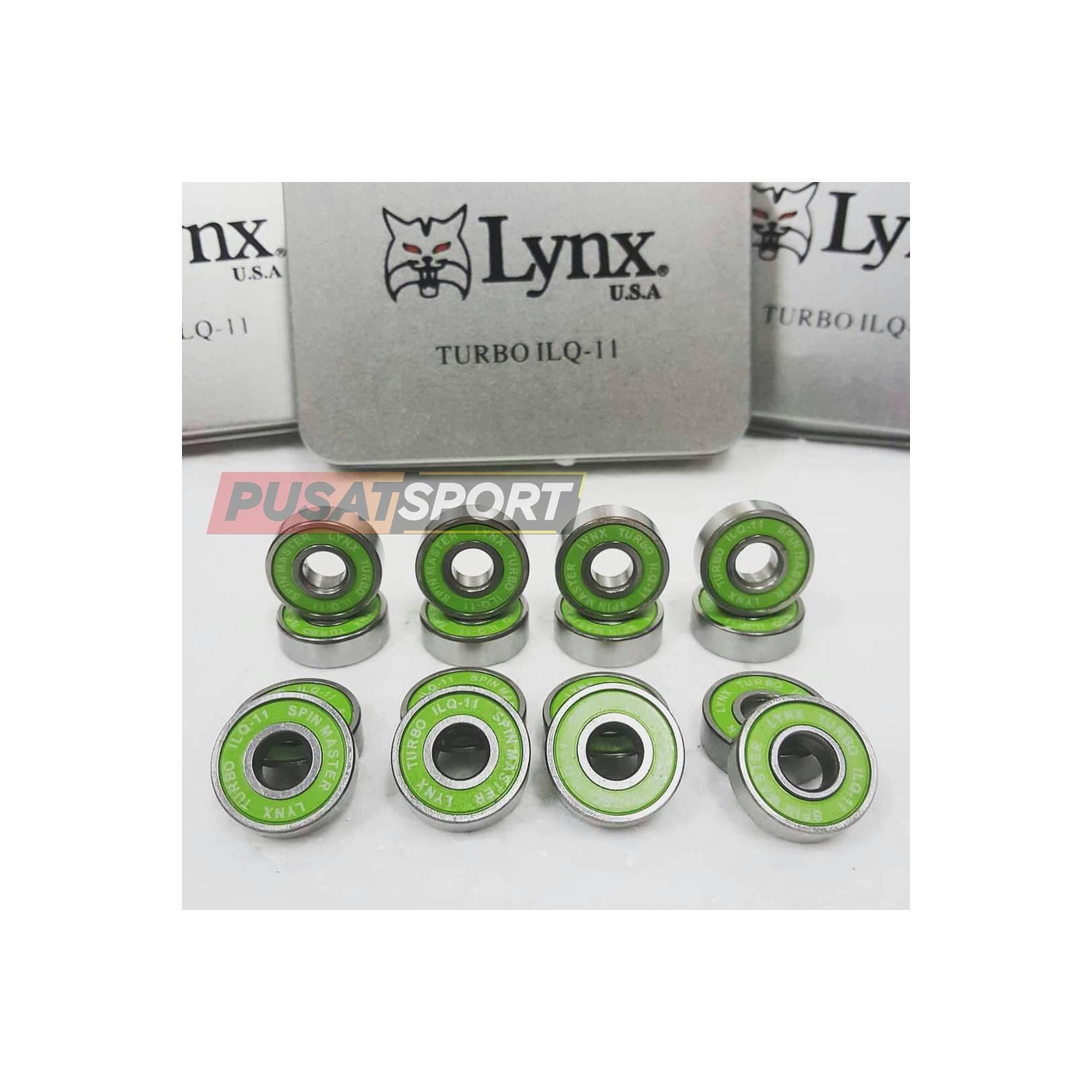 Sparepart Sepatu Roda Lynx Turbo IC Hijau