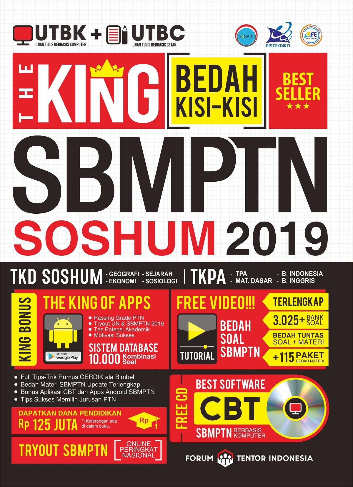 BEST SELLER NASIONAL THE KING SBMPTN SOSHUM 2019