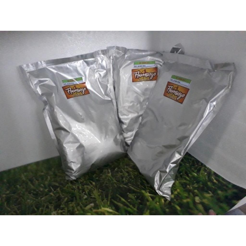 bubuk es krim / bubuk es krim kiloan untuk es krim siap pakai instan merk Flamingo Durian