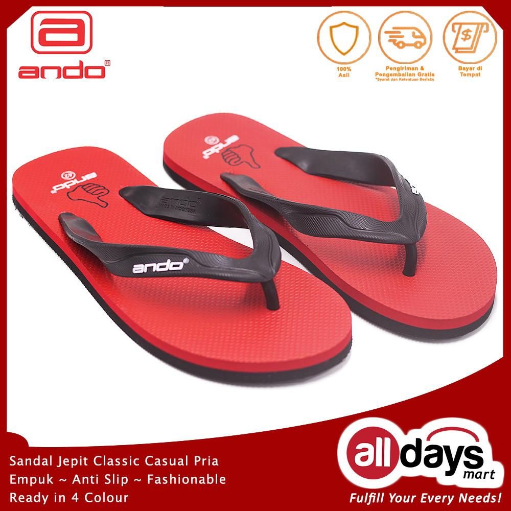 Ando Sandal Jepit Casual Pria Hawaii Like 02 Size 38-42 51c365a3c2