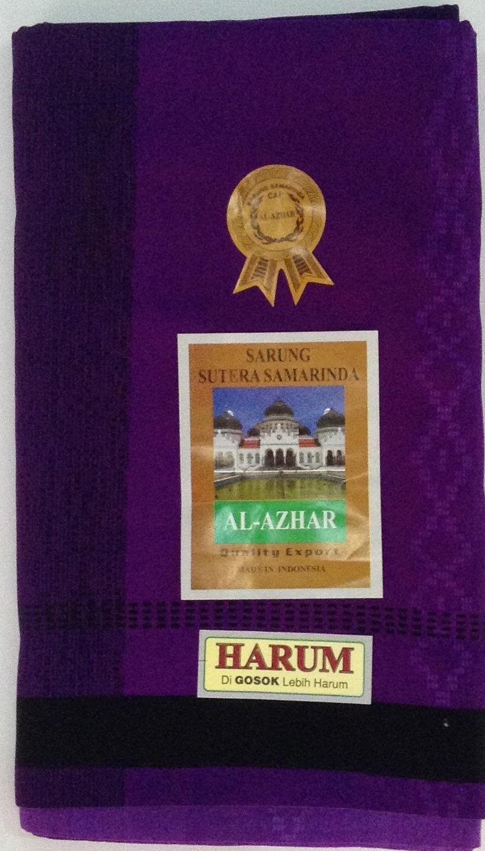 Sarung Samarinda Al Azhar Harum type Saphire/ungu