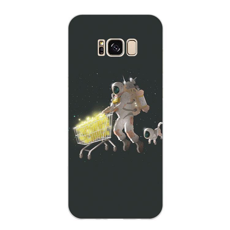 Samsung Selubung Ponsel Ruang Belanja Selubung S76edge/S7/S6/S5/Note854/A9/A8