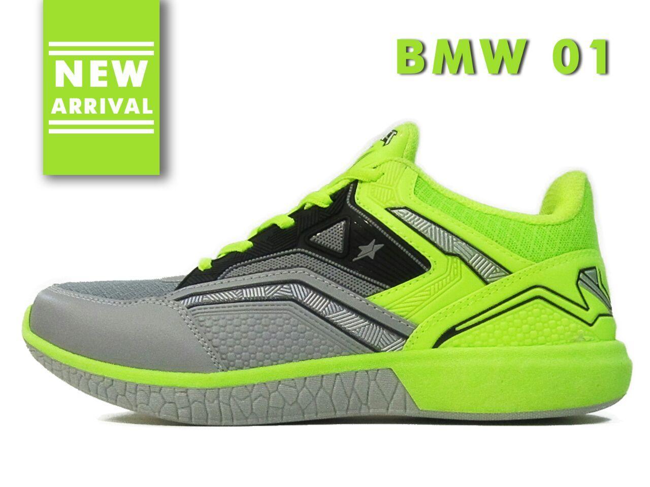 Amelia Olshop - Pro ATT Sepatu Sneaker Pria / Sepatu Pria / Sepatu Olahraga / Sepatu Sport / Sepatu Murah / Sepatu High Quality New Arrival - BMW 01 Hijau