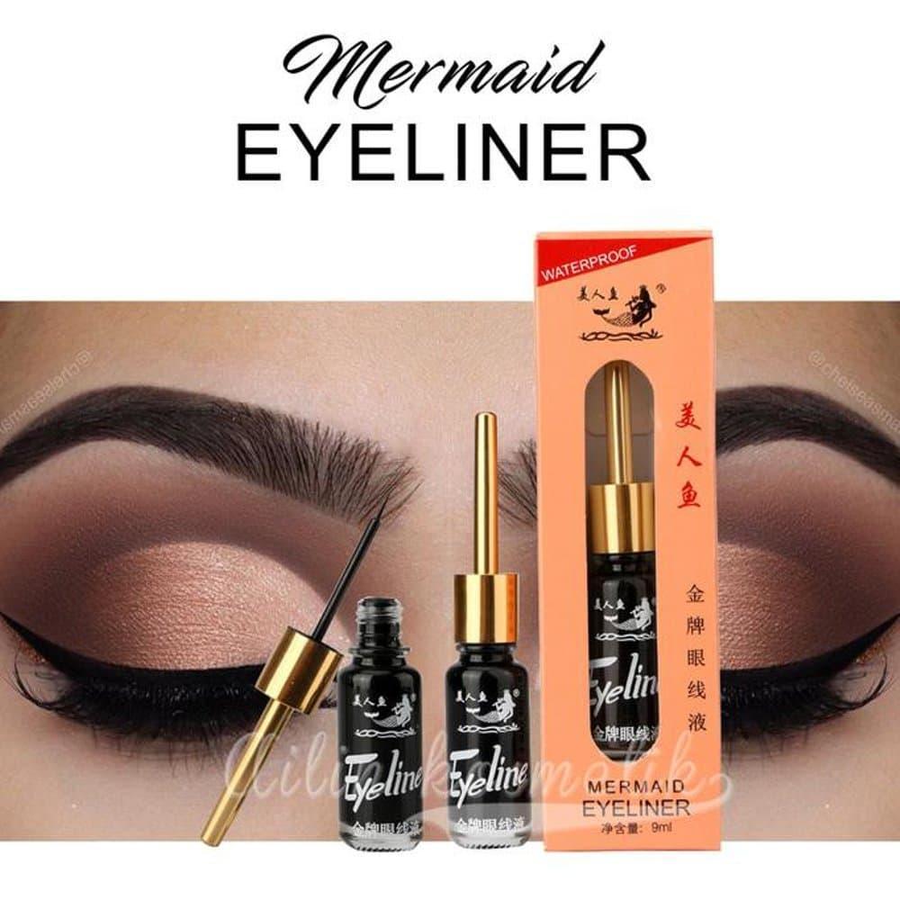 Shock Price Eyeliner Duyung Waterproof - Mermaid Eyeliner Waterproof - 9ml best price - Hanya Rp18.004