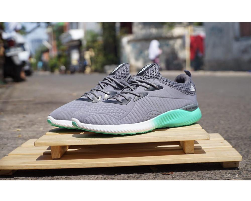 Beli Sepatu Boots Adidas Warna Abu Casual Addidas Alphabounce Sneakers Tosca