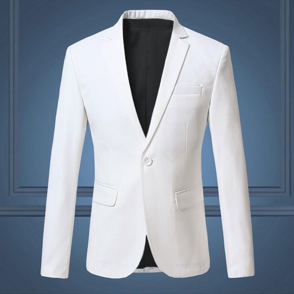 Jaket Jas - Jas Pria Style Formal Trend Fashion Kantoran Recomended - Putih