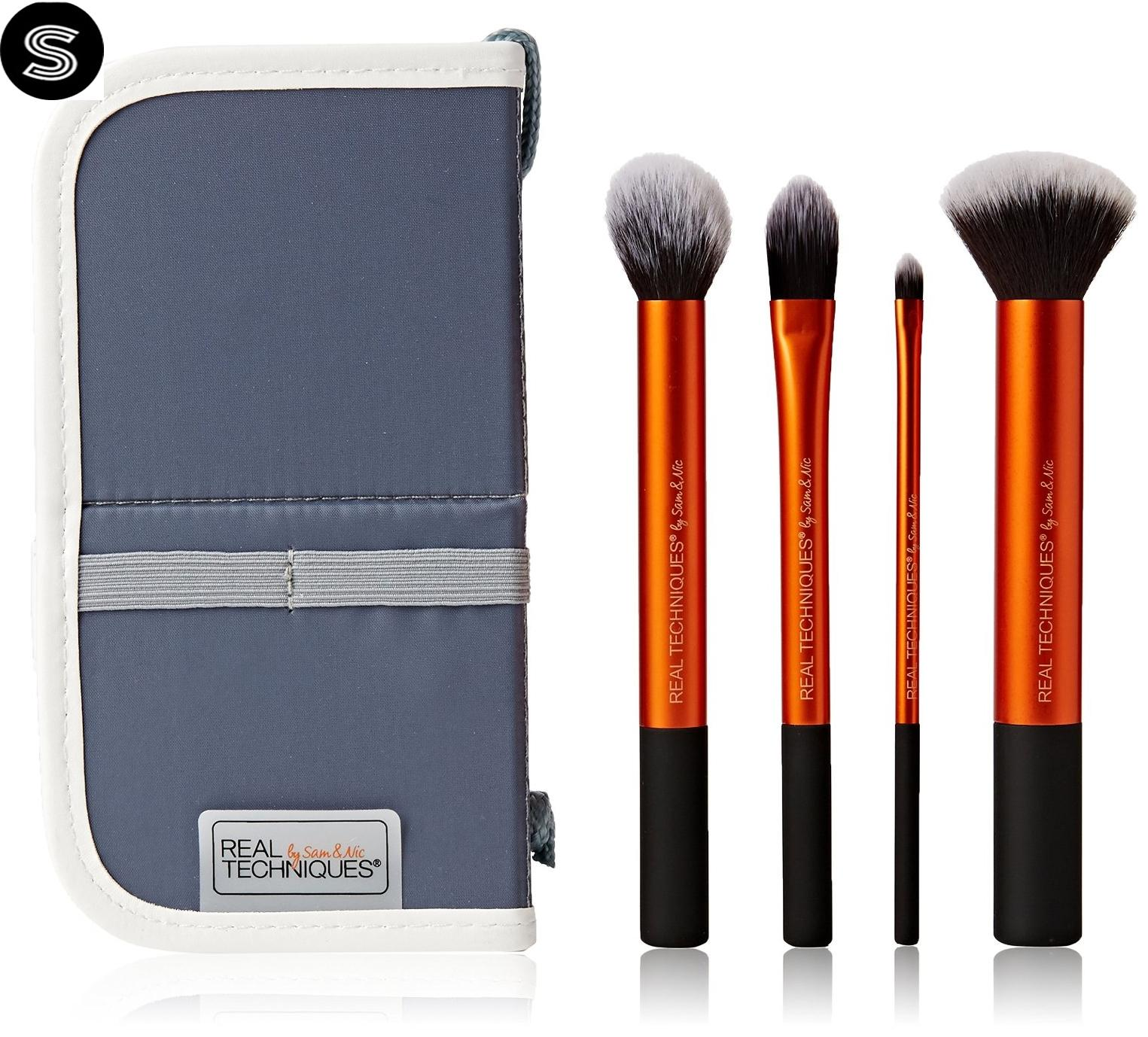Buy Sell Cheapest Real Techniques 1419 Best Quality Product Deals 1407 Blush Brush Core New Collection 4 In 1 Makeup
