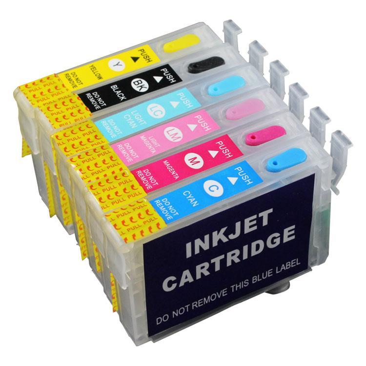 Fast Print Cartridge MCISS Refillable Epson R1390 Kosongan 1 Set