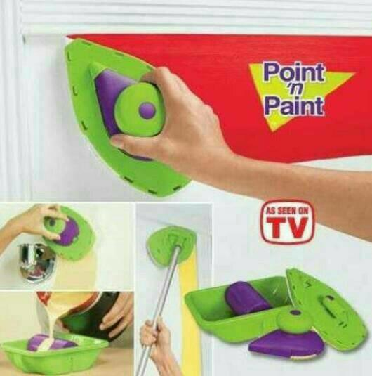 PROMO POINT N PAINT AS SEEN ON TV - KUAS ROL CAT TEMBOK TERLARIS