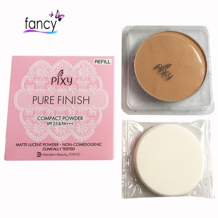 PIXY PIXY Compact Powder Pure Finish REFILL / Best Produk !! Pixy Makeup - Powder Bedak / Harga Murah !!! Bedak Padat - Pixy REFILL