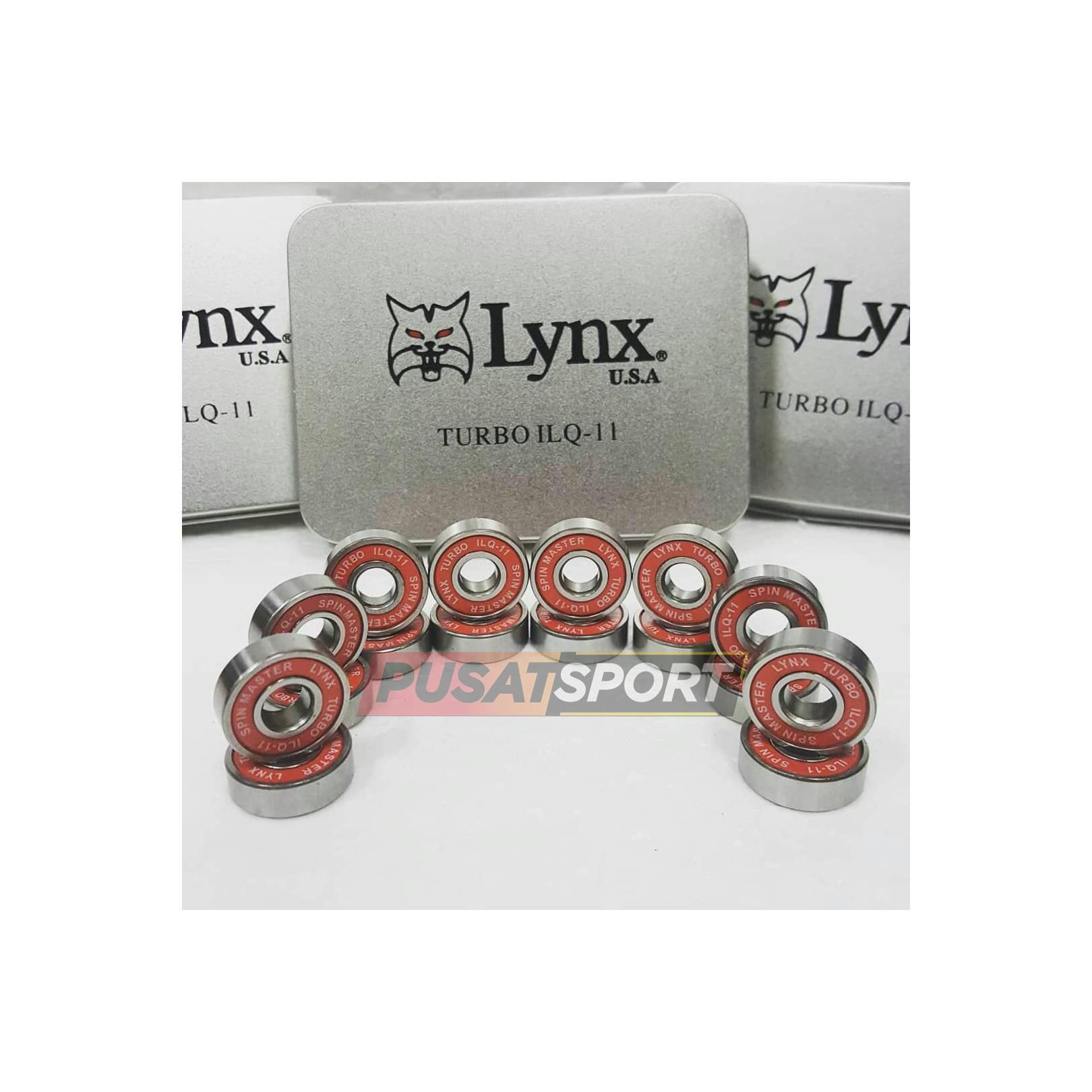 Sprepart Sepatu Roda Lynx Turbo IC Merah