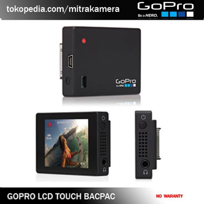 Ready!!! Aksesoris Gopro Lcd Touch Bacpac - ready stock