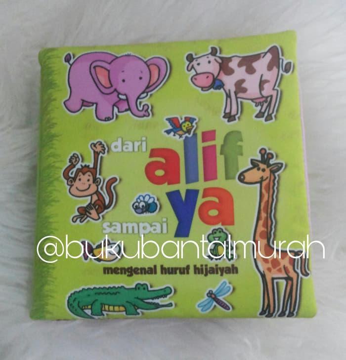 ALIF YA HURUF HIJAIYAH - Buku Bantal Mainan Kado Anak B