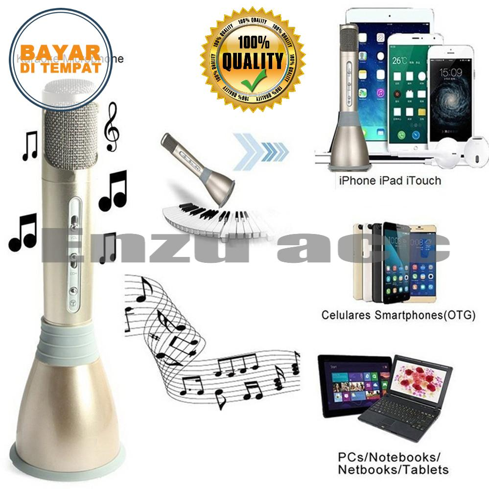 Mic Karoke VDR Portable Microphone + Speaker Bluetooth V-3900BT