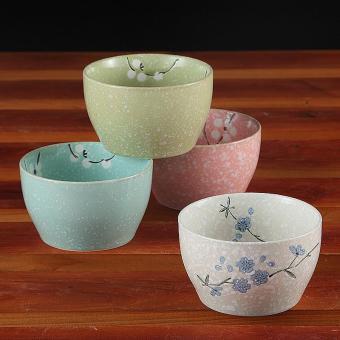 Price Checker Yatai SNOW porselen kreatif model Jepang dilukis dengan tangan Keramik Peralatan makan rumah tangga