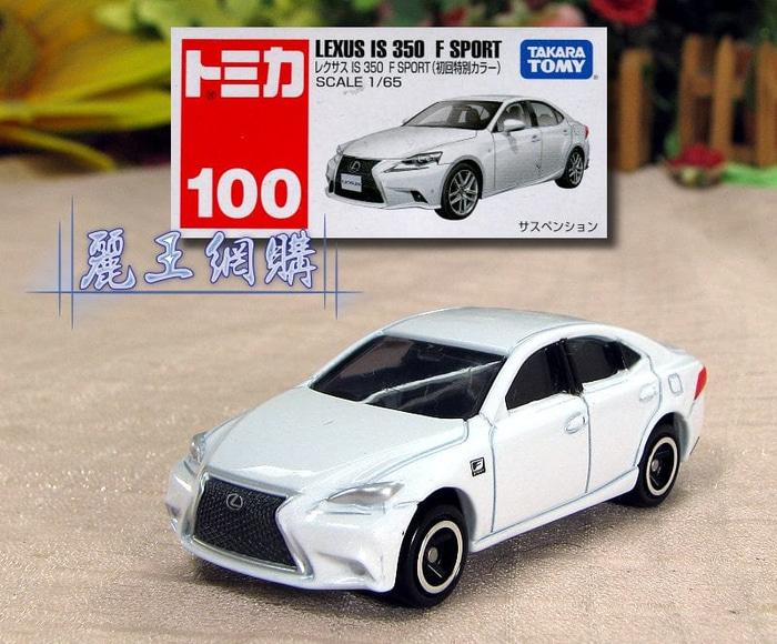 Tomica Reguler 100 Lexus IS 350 F Sport (White)