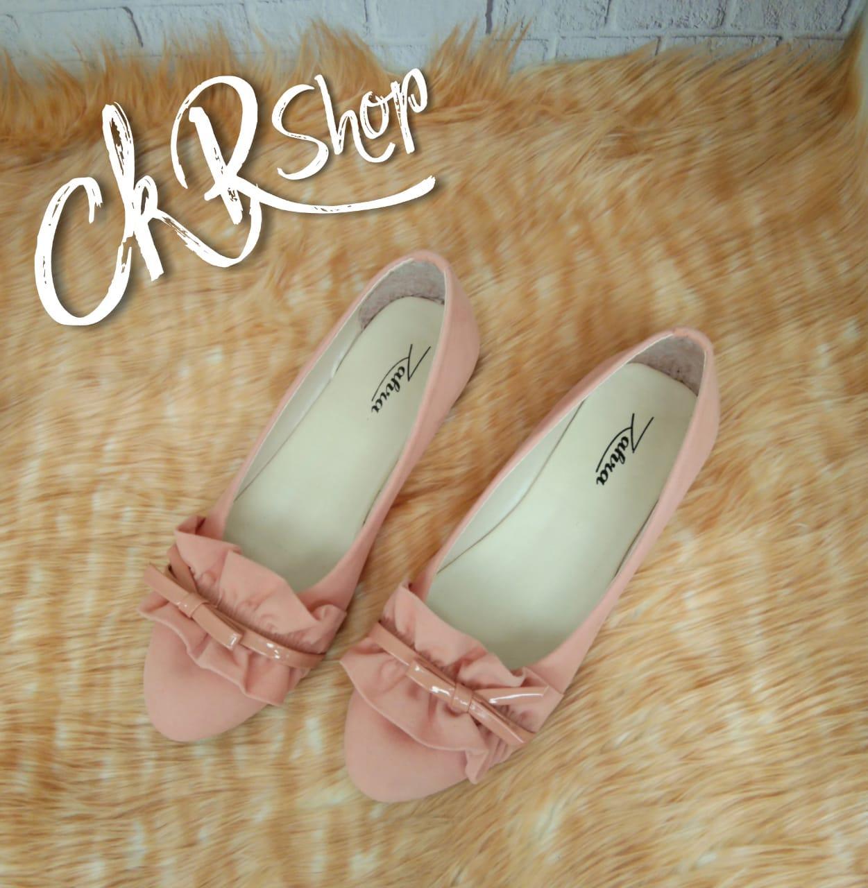 CKR Shop - Sepatu Wanita Pita Rempel ZR - 19