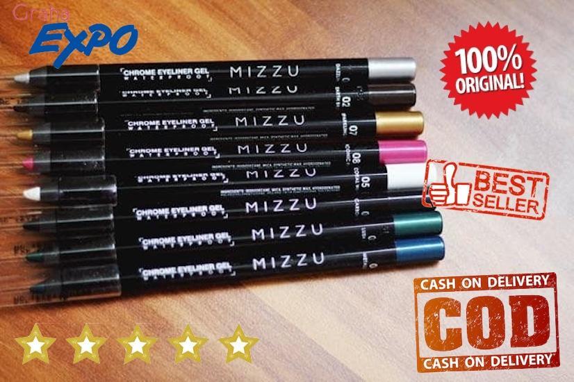 Mizzu Chrome Eyeliner Gel EyeShadow Pensil Mata