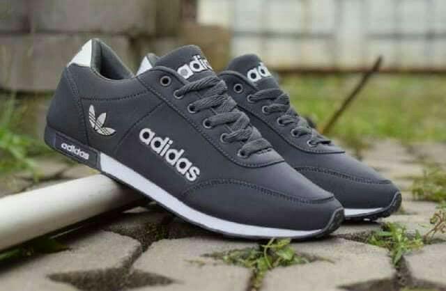 Sepatu Adidas Grey