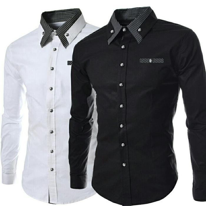 3098 Baju Murah/ Kemeja Executive RONALDO/ Baju Grosir - cLtWDE